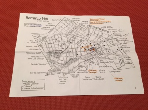 Barranco map